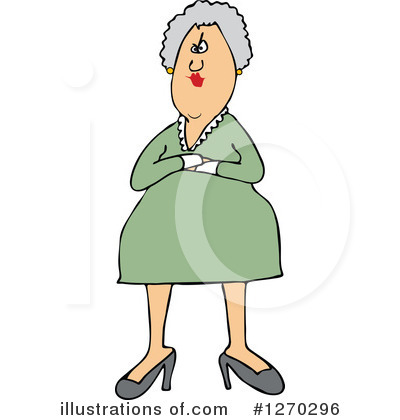 Old Woman Clipart #1270296 by djart