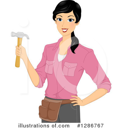 Hammer Clipart #1286767 by BNP Design Studio