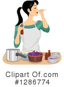 Woman Clipart #1286774 by BNP Design Studio