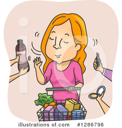 Groceries Clipart #1286796 by BNP Design Studio