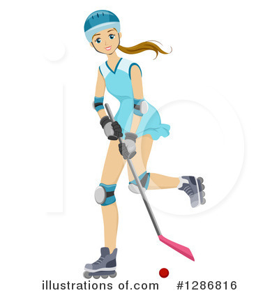 Hockey Clipart #1286816 by BNP Design Studio
