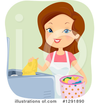 Laundry Clipart #1291890 by BNP Design Studio