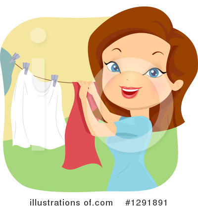 Laundry Clipart #1291891 by BNP Design Studio