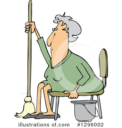 Old Woman Clipart #1296002 by djart