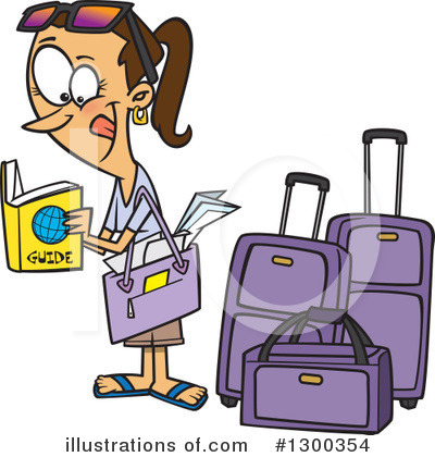 Vacation Clipart #1300354 by toonaday
