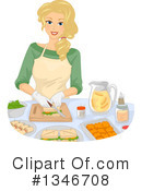 Woman Clipart #1346708 by BNP Design Studio