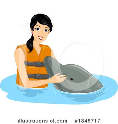 Dolphin Clipart #1346717 by BNP Design Studio