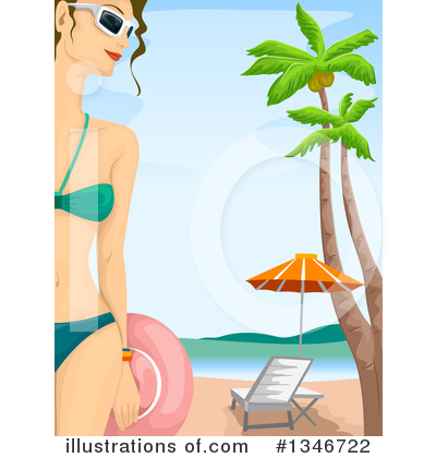 Tropical Clipart #1346722 by BNP Design Studio