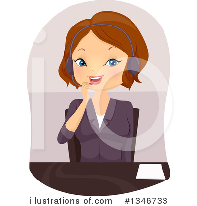 Call Center Clipart #1346733 by BNP Design Studio