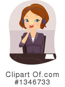 Woman Clipart #1346733 by BNP Design Studio