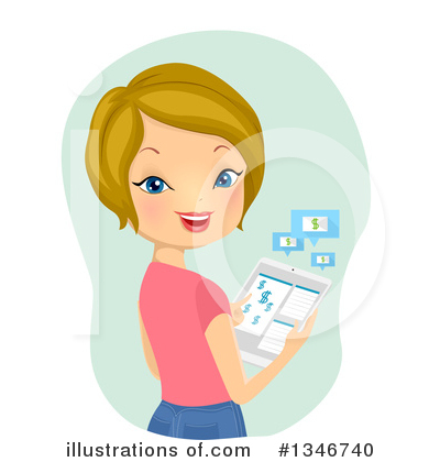 Tablets Clipart #1346740 by BNP Design Studio