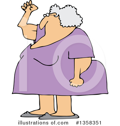 Old Woman Clipart #1358351 by djart
