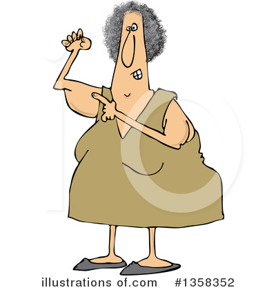 Old Woman Clipart #1358352 by djart