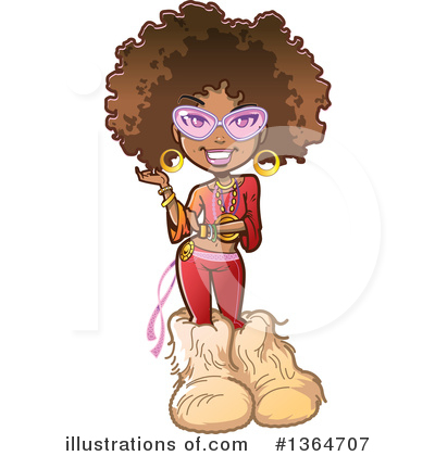 Royalty-Free (RF) Woman Clipart Illustration by Clip Art Mascots - Stock Sample #1364707
