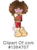 Woman Clipart #1364707 by Clip Art Mascots