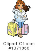 Woman Clipart #1371868 by Clip Art Mascots