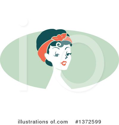 Pinup Clipart #1372599 by BNP Design Studio
