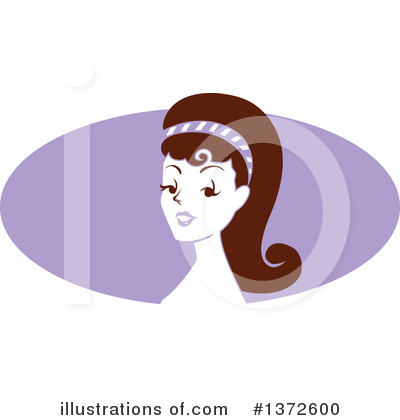 Pinup Woman Clipart #1372600 by BNP Design Studio