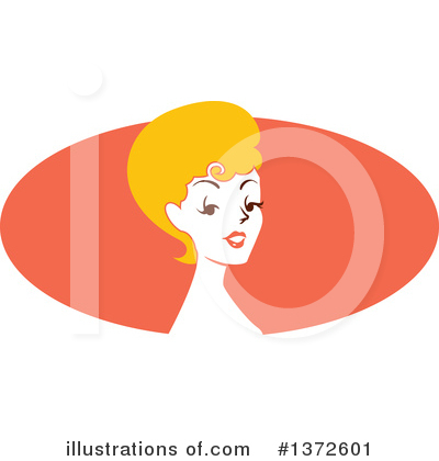 Sexy Woman Clipart #1372601 by BNP Design Studio