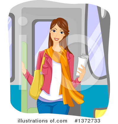 Subway Clipart #1372733 by BNP Design Studio