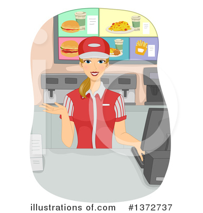 Fast Food Clipart #1372737 by BNP Design Studio