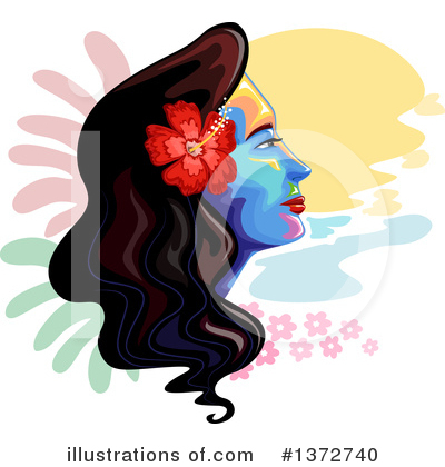 Polynesian Clipart #1372740 by BNP Design Studio