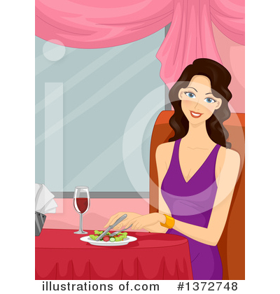Dining Clipart #1372748 by BNP Design Studio