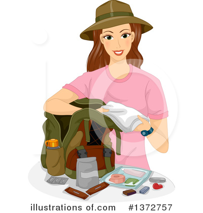 Camping Clipart #1372757 by BNP Design Studio