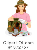 Royalty-Free (RF) Woman Clipart Illustration #1372757