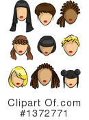 Woman Clipart #1372771 by BNP Design Studio