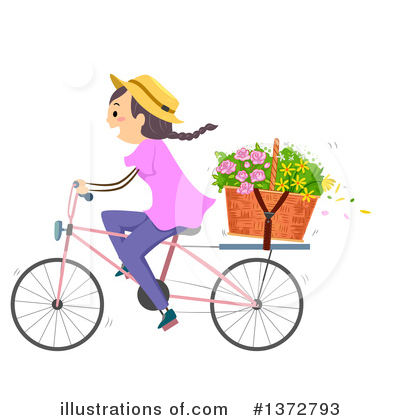 Bicycle Clipart #1372793 by BNP Design Studio