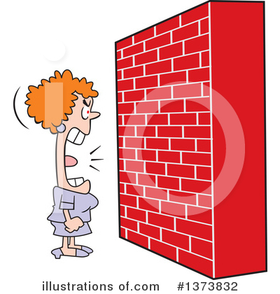 Brick Wall Clipart #1373832 by Johnny Sajem