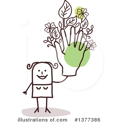 Gardening Clipart #1377386 by NL shop