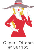 Woman Clipart #1381165 by BNP Design Studio