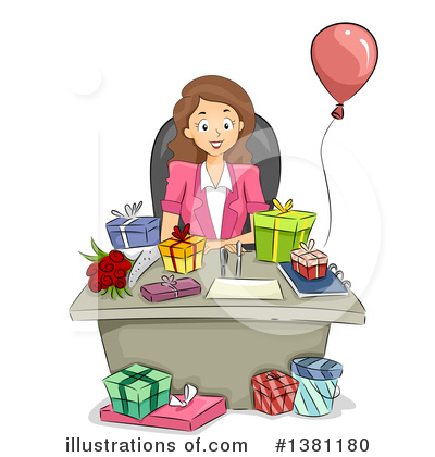 Birthday Clipart #1381180 by BNP Design Studio