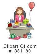 Woman Clipart #1381180 by BNP Design Studio
