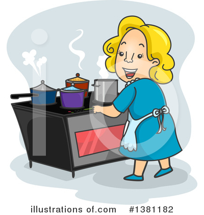 Stove Clipart #1381182 by BNP Design Studio