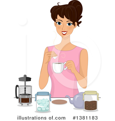 Royalty-Free (RF) Woman Clipart Illustration by BNP Design Studio - Stock Sample #1381183