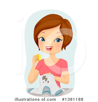 Royalty-Free (RF) Woman Clipart Illustration by BNP Design Studio - Stock Sample #1381188