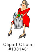 Woman Clipart #1381481 by djart