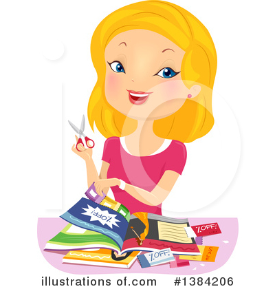 Coupons Clipart #1384206 by BNP Design Studio