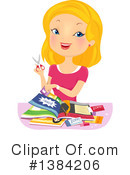 Woman Clipart #1384206 by BNP Design Studio