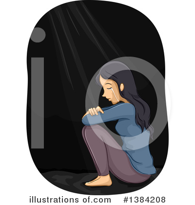 Crying Clipart #1384208 by BNP Design Studio