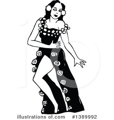 Dancing Clipart #1389992 by Prawny Vintage