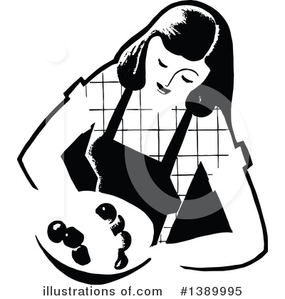 Cooking Clipart #1389995 by Prawny Vintage