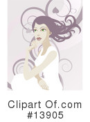 Woman Clipart #13905 by AtStockIllustration