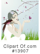 Royalty-Free (RF) Woman Clipart Illustration #13907