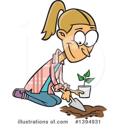 Seedling Clipart #1394931 by toonaday