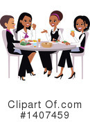 Woman Clipart #1407459 by Monica