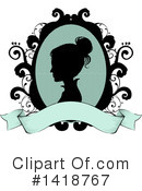 Woman Clipart #1418767 by BNP Design Studio